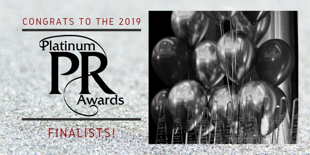 Platinum PR Awards Gala to Honor Amazing Brands, Agencies and People – See the Finalists!