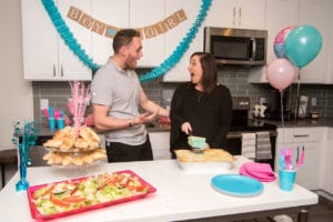 BMLPR & Villa Italian Kitchen Gender Reveal Lasagna