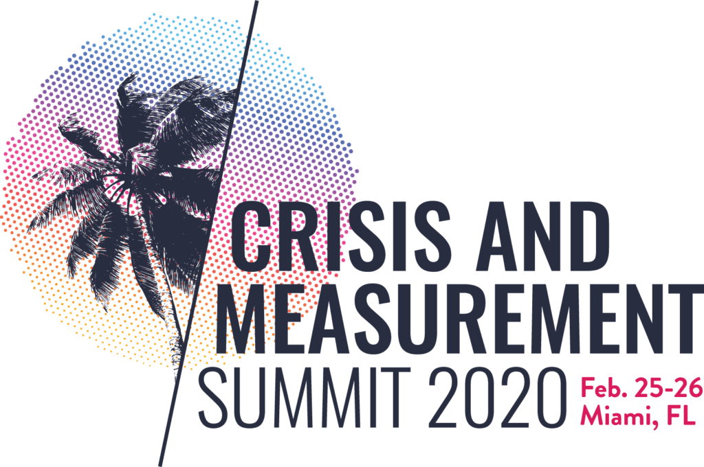 2020 Crisis & Measurement Summit