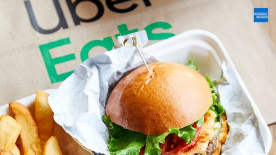 American Express Partners With Uber Eats