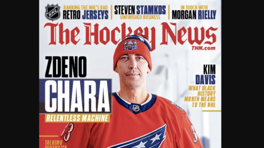 The Hockey News February Cover
