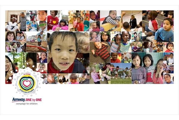 Amway Oneby One Campaign for Children