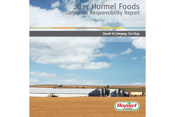Annual Report: Hormel Foods Corp. and Burson-Marsteller