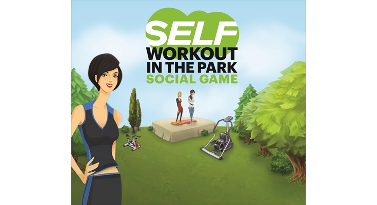 Games: SELF Magazine - SELF Workout in the Park Social Game