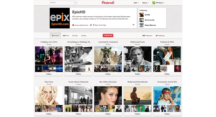 Pinterest: EPIX - EPIX Looks Great on Pinterest