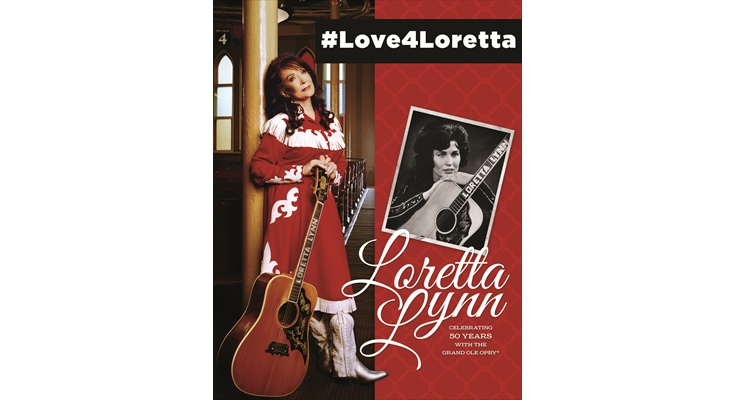 Twitter: Best Use of Hashtags: Grand Ole Opry - #Love4Loretta