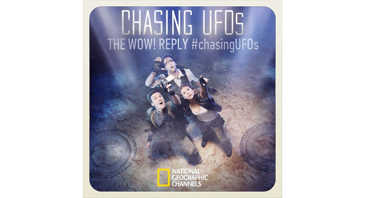 Twitter: Marketing Campaign: National Geographic Channel - Chasing UFOs, The Wow! Reply