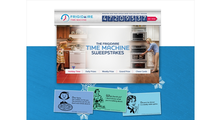 Facebook: Contest/Games: Weber Shandwick - Frigidaire Time Machine
